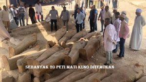 Sebanyak 20 Peti Mati Kuno Ditemukan